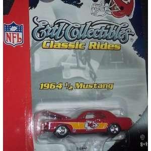 Kansas City Chiefs Diecast 64 1/2 Mustang Ertl Collectibles Classic