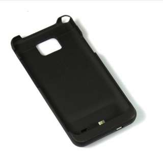 NEW 2200mAh Ultra thin Backup Battery Case Cover For Samsung Galaxy S2