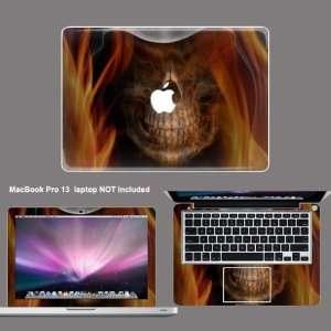 Apple Macbook PRO 13 Protective decal sticker skin skins
