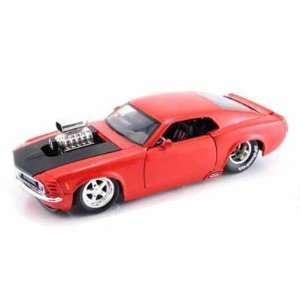1970 Ford Mustang BOSS 429 Blown Engine 1/24 Red Toys & Games
