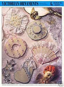 VICTORIAN ORNAMENTS #2 ~ plastic canvas patt. CHRISTMAS