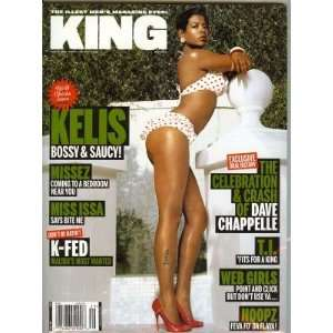 King Magazine, (Kelis Cover) May 2006 (Single Issue