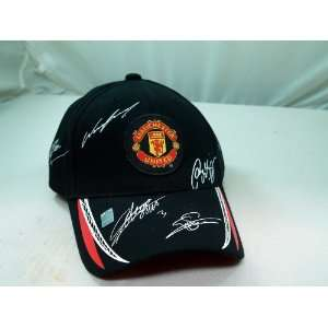 FC MANCHESTER UNITED OFFICIAL TEAM LOGO CAP / HAT   MU011