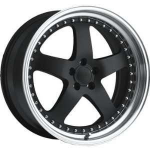 Privat Legende 19x9.5 Black Wheel / Rim 5x120 with a 35mm Offset and a