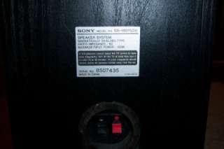 SONY SS MB150H BOOKSHELF SPEAKER