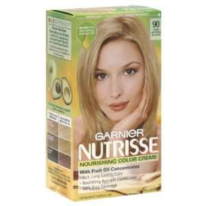 90 Light Natural Blonde by Garnier for Unisex 1 Application Hair Color