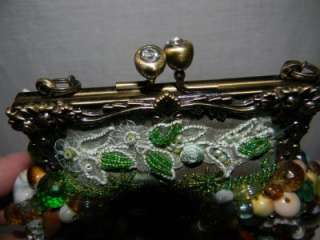 Vintage Mary Frances Beaded Evening Bag Purse Handbag