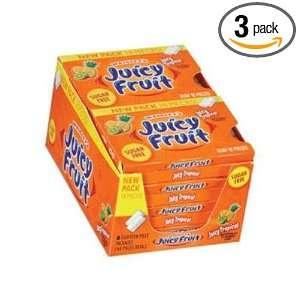 Wrigleys Juicy Fruit Sugar Free Gum, Juicy Tropical 8