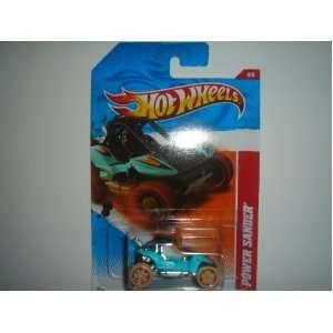 2011 Hot Wheels Power Sander Blue Green/Black #184/244