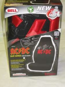 NEW AC/DC Universal Bucket Seat Cover Seat Air Bag Safe Rock N Roll