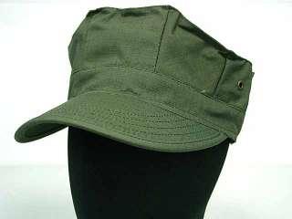 SWAT Airsoft Marine BDU OD Green Cadet Patrol Hat Cap