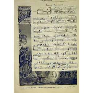 March Music Score Lohengrin Opera French 1891: Home & Kitchen