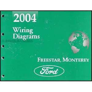 2004 Ford Freestar & Mercury Monterey Wiring Diagram