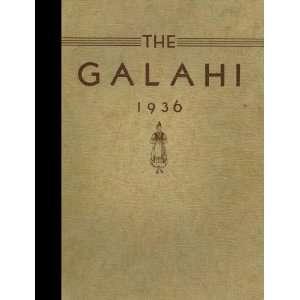 Galva High School, Galva, Illinois 1936 Yearbook Staff of Galva High