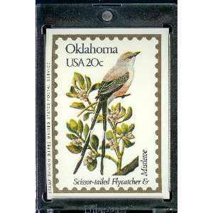 1991 Bon Air Oklahoma Stamp Replica Trading Card #36