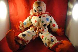 Collectable 1940s KICKERBOCKER Nnick the Clown doll