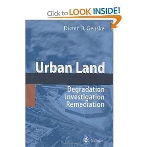 Urban Land (9783540438458): Dieter D. Genske: Books