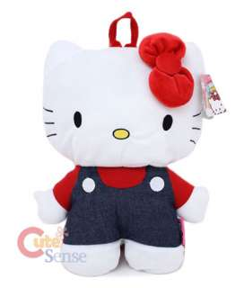 Sanrio Hello Kitty Plush Doll Backpack/Bag 16 Yellow