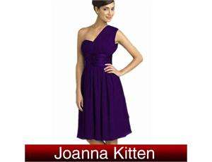 Glamorous & Vogue One Shoulder Bridesmaid Prom Gown Evening Dress