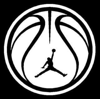 Jordan Basketball vinyl Decal car truck sports New
