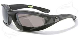 Choppers Sunglasses Men Motorcycle Goggles Black Clear