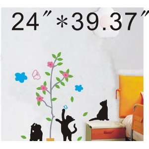 Large  Easy instant decoration wall sticker decor  catch