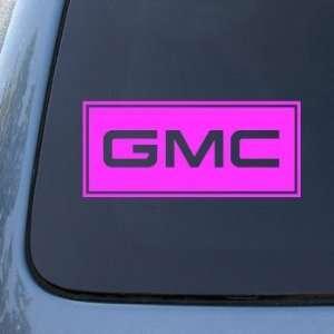 GMC   Vinyl Car Decal Sticker #1775  Vinyl Color Pink