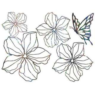 GP 18 FLOWER Vinyl Graphic Wall Art Deco Decals Sticker