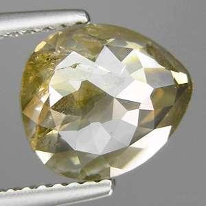 15cts Pear Fancy Grayish Yellow Natural Loose Diamond