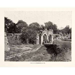1903 Print Kashmiri Gate Delhi India Engineer Robert Smith Historical
