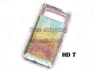 Hello kitty Rhinestone Bling Back Case f HTC HD7 HD 7