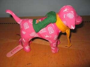 New Victorias Secret pink backpack college logo dog