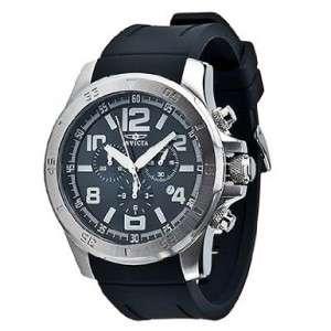 Sport Watch~Black Dial Mens~Chrono~Black Poly Band 843836019132