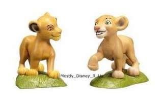 Lion King Simba Nala 9 Piece Figure Figurine Play Set