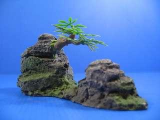 Mountain View Aquarium Ornament tree 15.5cm   Rock Cave
