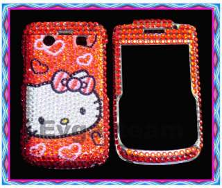 Hello kitty Bling Case Cover F BlackBerry Bold 9700 #3