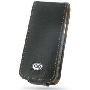 EIXO luxury leather case BiColor for Nokia N77 Flip Style