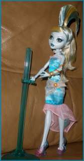 Pretty Lagoona blue Dawn of The Dance Monster High doll loose