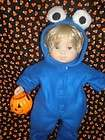 CLOTHES BITTY BABY COOKIE MONSTER HALLOWEEN COSTUME