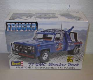 Revell Model Kit 1977 GMC WRECKER TRUCK 1/25 Factory Sealed Kit 85