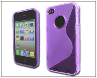 Shape soft TPU Silicone skin Case Cover f iphone 4 4G 5223