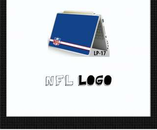NFL Logo Protective Laptop Notebook Skin Decal Sticker