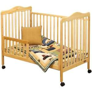 Orbelle 0 3T Emma Crib with Free Toddler Rail Guard Baby