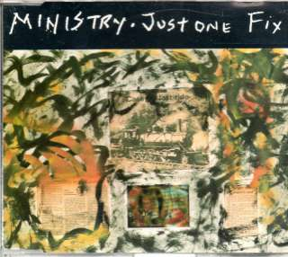 Ministry   Just one Fix   3 Track Maxi CD 1992