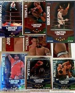 WWE Slam Attax Mayhem Limited Edition Card   You choose which   FREE P