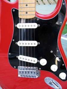 1989 Fender Stratocaster Squier II   MIK   RED BEAUTY