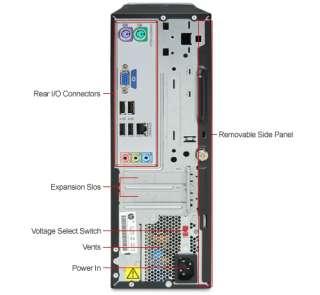 HP PAVILION SLIMLINE S5414Y DESKTOP PC COMPUTER 4G 500G