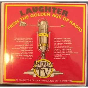 Laughter From the Golden Age of Radio Volume One Books