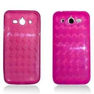PINK Soft Gel TPU Skin Case Cover For Huawei Mercury M886 (Cricket