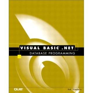 Mastering Visual Basic .NET Database Programming [Illustrated